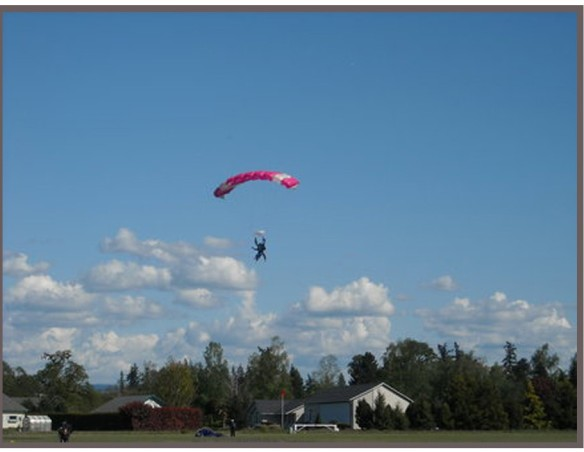 New Galilee Potato Festival Skydiving Contest